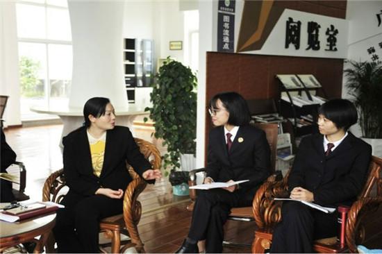 王海燕到潼南区检察院宣传十九大精神